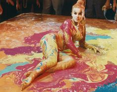 Ann Margaret | actress ann margaret part of a psychidelic painting those were the ...