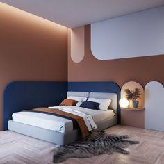 Bedroom Bed Design, Home Bedroom, Modern Bedroom, Bedroom Decor, Bedroom Furniture, Teen Bedroom, Kids Room Design, Home Room Design, Home Interior Design