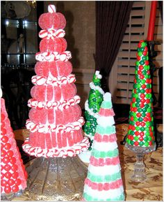 Amanda's Parties TO GO: Candy Christmas Trees