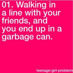 that's happened too! Teenage Girl Problems, Nerd Girl Problems, Nerdy Things, Funny Things, Funny Stuff, Teen Posts, Teenager Posts, Teenager Girl, Lol So True