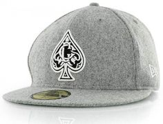 CROOKS & CASTLES x NEW ERA 「Spades」59Fifty Fitted Baseball Cap | Strictly Fitteds