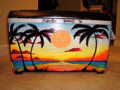 How to paint a frat cooler. This could come in handy...