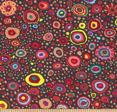 "Kaffe Fassett Roman Glass Jewel Black Dark GP01 Fat Quarter FQ Classic New Rowan Westminster Fasset Collective 18""X22"" Quilt Fabric by KinshipQuilters on Etsy"