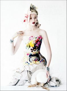 If its baroque... Ph. Tim Walker.  Mary Katrantzou