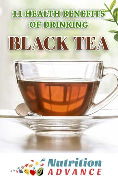 Black tea is one of the most popular drinks in the world, and there are good reasons for that. Here are 11 interesting health benefits that a cup of tea can have. Black Tea Benefits, Coffee Health Benefits, Cold Home Remedies, Natural Remedies, Teas For Headaches, Chai, Matcha, Tea For Colds, Best Herbal Tea