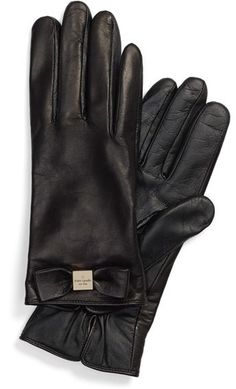 Please click on the picture to go to the detail page. Kate Spade New York Kate Spade New York 'bow Logo' Gloves