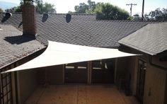 Pergola For Small Backyard Deck Shade, Sun Sail Shade, Outdoor Shade, Pergola Shade, Shade Sails, Sun Sails, Pergola Plans, Pergola Kits, Pergola Ideas
