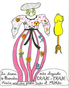 Malo Malo. Laurent Corominas: il. de Niki de Saint Phalle. Barcelona: Gustavo Gili, 2012 Jean Tinguely, French Sculptor, Picture Books, Design Art, Disney Characters, Fictional Characters, Barcelona, Funny Pictures, Artsy