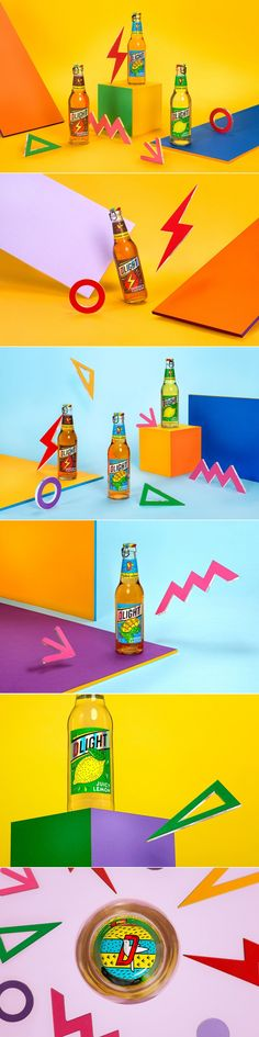 Dlight is a Beer Cocktail That is a Serious Delight For Your Eyes — The Dieline | Packaging & Branding Design & Innovation News