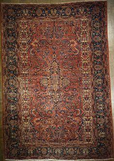 Persian/Sarouk 8.4 X 12.1  Antique