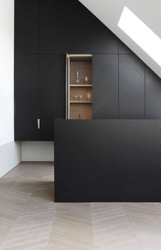 Cool Dachboden Rund Ums Haus Ideen Moderne K che Designs Moderne K chen K che Ideen Schwarze K chen Moderne Lofts Wien