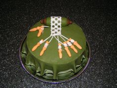 Bobbin lace cake made by Joan Munk Nielsen. So cute.