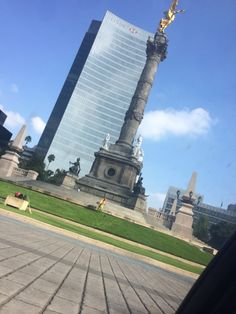 Paseo de la Reforma (ángel de la independencia)