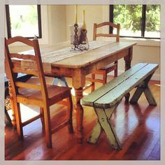 Design Inspiration: Dining Rooms with Benches - http://www.cozybliss.com/design-inspiration-dining-rooms-with-benches/