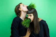 """""""Complements"""" is a creative couple portrait series by Leta Sobierajski and Wade Jeffree."""