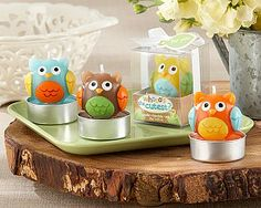 Whooos the Cutest? Baby Owl Candles