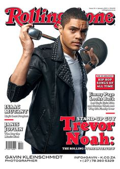 Trevor Noah (photo credit: Gavin K. for Rolling Stone South Africa January Beautiful Men, Beautiful People, Stand Up Guys, Trevor Noah, Hip Hop Songs, Funny Pictures Can't Stop Laughing, Jon Stewart, I Like Him, The Daily Show