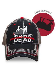 Farm Boy Co-op & Feed Co., LLC - Farm Boy My Cow Is Dead Cap