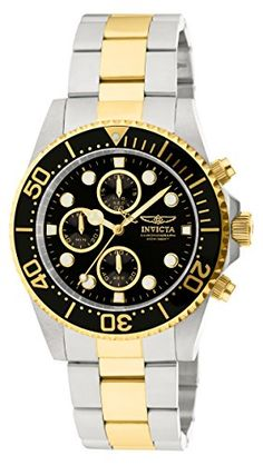Men  Watches - Invicta Mens 1772 Pro Diver Collection Chronograph Watch *** You can find more details by visiting the image link. (This is an Amazon affiliate link)