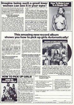 Sex Instruction Book Ads vintage
