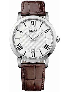 Hugo Boss Black Gentelman Mens Date Watch 1513136 - http://uhr.haus/boss/hugo-boss-black-gentelman-mens-date-watch-1513136