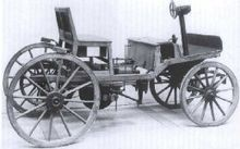 The second Marcus car of 1888 at the Technical Museum in Vienna