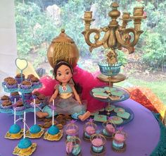 Princess Jasmine birthday party treats! See more party ideas at CatchMyParty.com!