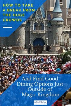 Today, I'm going to discuss great dining options around the Magic Kingdom. There are some amazing restaurants just outside the park, that are easy to get to! #MagicKingdomDining #MonorailResorts #MagicKingdomRestaurants #DisneyWorldTips