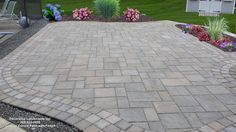 Techo-Bloc Blu Custom Curved Patio, Rehoboth