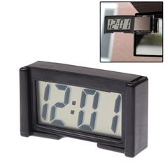 [USD2.41] [EUR2.15] [GBP1.68] LCD Digital Electronic Car Clock Car Interior Accessory Date Calendar Time Display