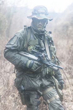 "Austrian ""Jagdkommando"" Special Operations Forces."