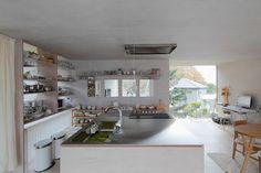 다이닝룸 - 무인양품, 콘크리트와도 잘 어울린다? 목재와 콘크리트로 완성한 무인양품 인테리어 일본 주택 - 문화가 있는 집, phm ZINE