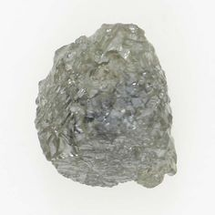 0.62 Ct Natural Loose Diamond Raw Rough Irregular Shape Silver Color