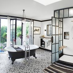 We love bathrooms, and with so many beautiful styles and ideas out there, it's hard to pick just one, so we're not!