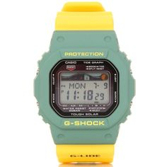 G-Shock by Casio GRX-5600SRF-3DR Yellow/Green @wellgosh