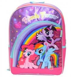 Backpacks and Bags · My Little Pony School Backpack Children Kids Friends  Forever My Little Pony Backpack fc0ecbfd5f277