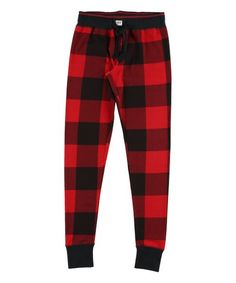 Lazy One Red   Black Buffalo Check Pajama Pants - Women 3d26d9a20