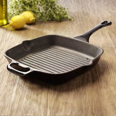 Buy Griddles and Griddle Pans, Cookware from ProCook, the UK's leading specialist cookware retailer with free next day delivery & money back guarantee. Kitchen Items, Kitchen Tools, Pro Cook, Griddles, Griddle Pan, Cast Iron, Grilling, Steaks, Cooking