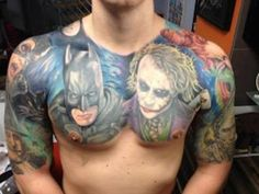 Batman tattoo!!