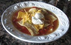Panera Bread Copycat: Chicken Tortilla Soup