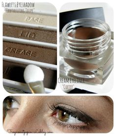 #21623 Tantalizing Taupe & Crème Eyeliner #81159 Coffee http://eyeslipsface.nl/product-beauty/op-maat-oogschaduw