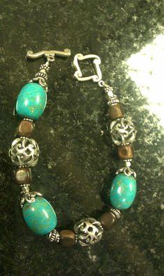 Turquoise/Bali bracelet