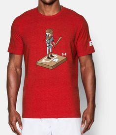 Men's UA 8-Bit Bryce Harper T-Shirt, Red, zoomed image