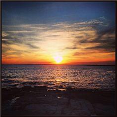 Ocean Drive Sunset      #VisitRhodeIsland
