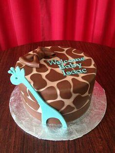 Giraffe cake for Liam's 1st birthday?