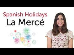 Learn Spanish Holidays - La Mercè - YouTube