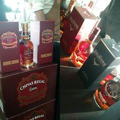 Muy buenos whiskys en el @altagamaluxury: Chivas Regal The Dalmore y Jura