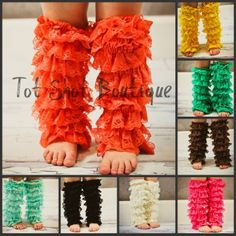 For sure need to make or get these cute ruffle legs!!!:)