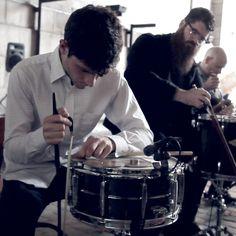 Eli Keszler & So Percussion: Making The Manhattan Bridge Roar And Sing : NPR