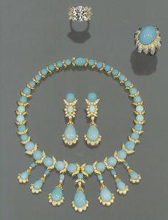Persian turquoise parure